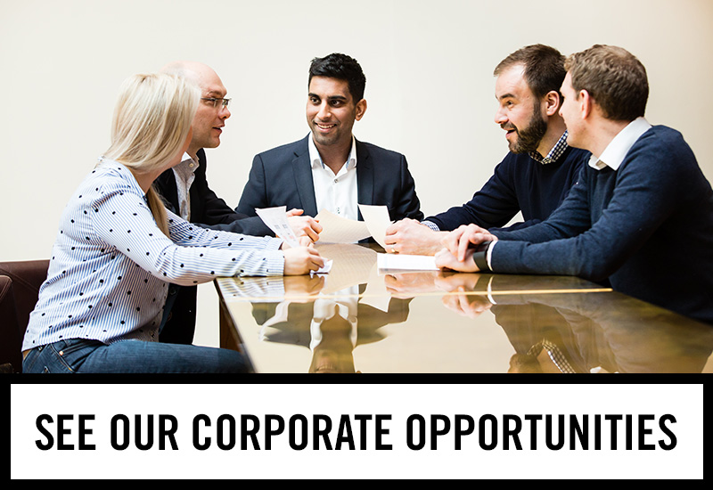 Corporate opportunities at The Peacock