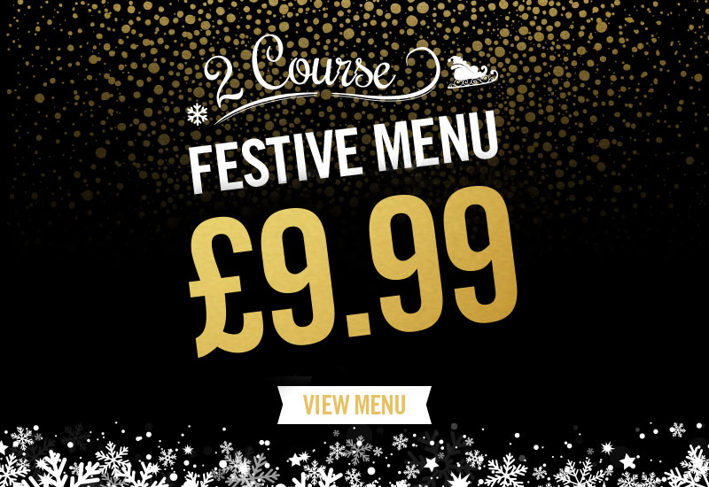 Festive Menu at The Peacock