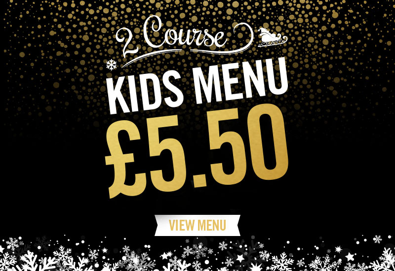 Kids Festive Menu at The Peacock